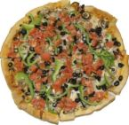 Veggie is my favorite! - veggie pizza