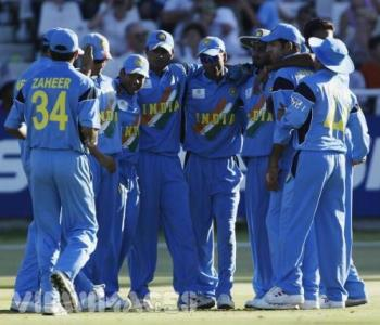 indian team - the great huddle
