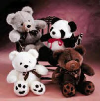 Stuffed teddy bear toys - Some examples of stuffed bear toys