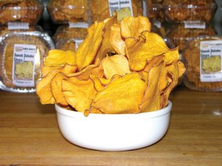 Snack, Sweet potato chips - Sweet Potato chips snack