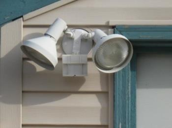 My lights - Motion detector lights for safety in my yard/driveway