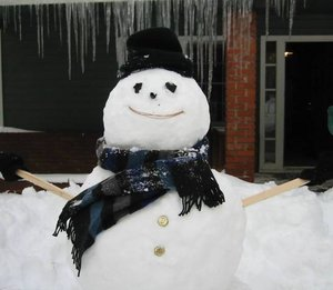 Snowman - Winter fun