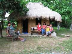 Bahay Kubo - A Philippine native house.