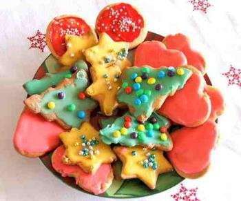 Christmas Sugar Cookies - Christmas Sugar cookies with frosting