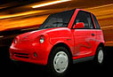 Reva - a production electric car - Reva is a low impact production model electric car.  A must for the environment and economy concious.