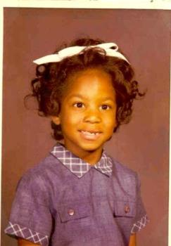School Picture - This is my first grade school picture.