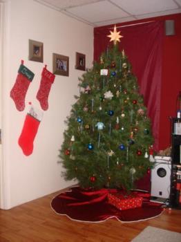Christmas tree - my daughter's Christmas tree