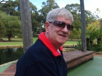 Me in Perth - Me in King's Park in June