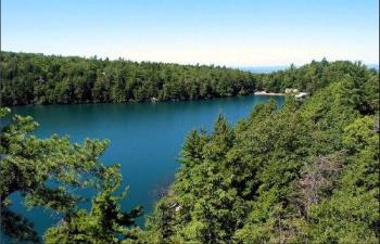 Lake Minnewaska - Formed during the 3rd ice age