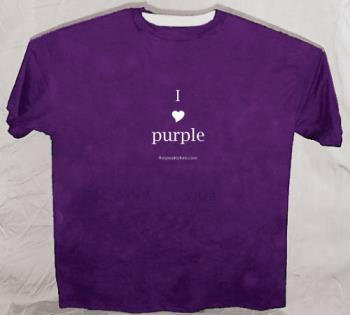 I Love Purple!! - I love purple!!