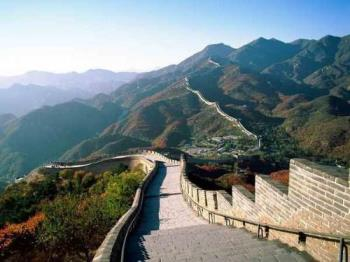 Great Wall of China - The Great Wall is the world's longest human-made structure, stretching over approximately 6,400 km.