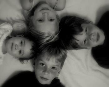 My 4 Babies - This is one of the photos that has been used as my wallpaper many times. It is one of my favorites.