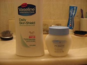 My Lotions - I use them daily all year long