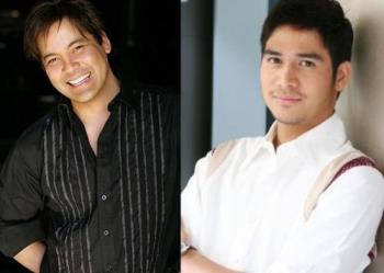 OPM Filipino Artist - These are two images of OPM fiipino artists - Piolo Pascual & Martin Nievera.