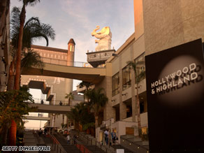 Hollywood and Highland complex - The Hollywood & Highland complex includes the theater where the Academy Awards ceremony is held.