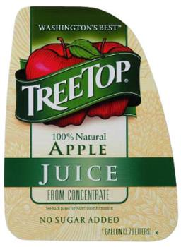 Your Favorite Juice - This is an image of my favorite apple juice.