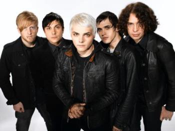 My Chemical Romance group shot - MCR, a My CHemical Romance Group shot photo.