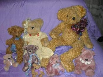 My Bears - My handmade teddy bears