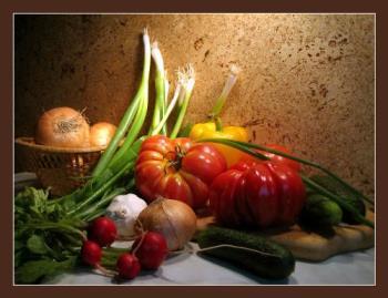 fresh vegetables - are still the best for the diet...