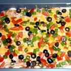 Here's some seven Layer Dip for you - Dig in everyone!