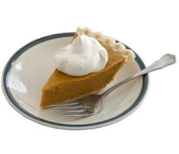 Pumpkin Pie - My favorite!!