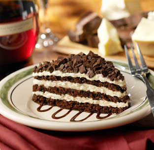 """For you chocolate lovers/ - Have you ever ate chocolate Lasagna? I just saw it on the net and I've never ate it. I guess the resteraunt """"Olive Garden"""" makes it. I wish we had a Olive garden here in my town in alaska. only town in Alaska that has a Olive garden is Anchorage. I hope to try this dish when I visit that town again this summer."""