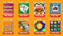 games on winster - these are the games available to play on winster