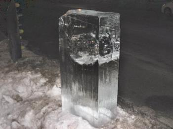 Ice Sculpture - Same piece from a different angle though