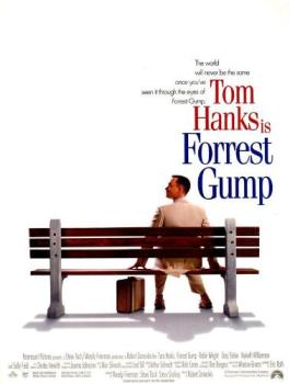 Forrest Gump - tom hanks stars as Forrest