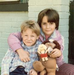 Me and my brother - Here is a picture of me and my brother from 1985.  I was 8 1/2 and my brother was 6 1/2.