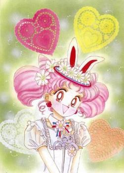 Chibiusa - Chibiusa with hearts