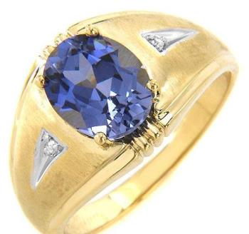 My ring - I wear Sapphire.