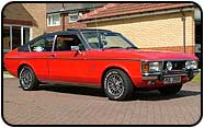 A 1970's Ford Granada in the uk. - kt-w ter 9saag k
