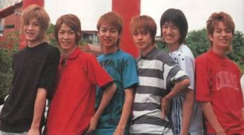 Yukan Club - kat-tun members