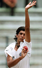 ishant - India's new firing bowler. he is the best swinger as of now he is troubling the batsmens like the ponting & sysmonds& hayden.