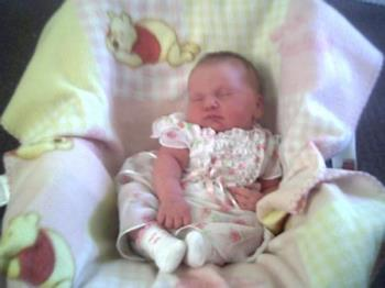 Our Newest addition - Milanna born 8-14-2007
