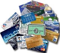 Credit cards, hahaha! - Credit cards, hahaha!