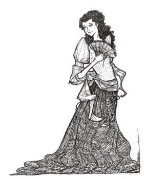 typical filipiniana - in philippines