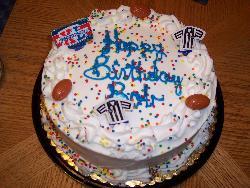 birthday cake - this was my husbands birthday cake