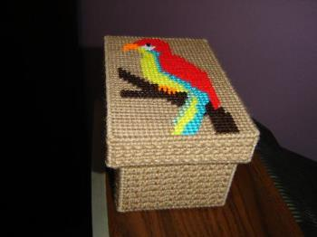 Parrot Box - Used for storing little things.
