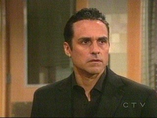screencap of Sonny - After Jax told him off on Thursday March 6, 2008