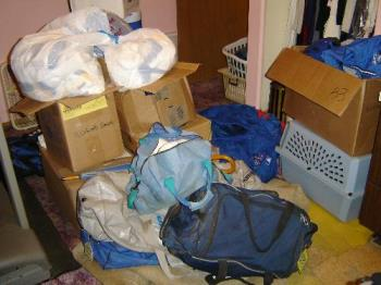 Small Portion of Clutter - This is only a small portion of the clutter in one room.