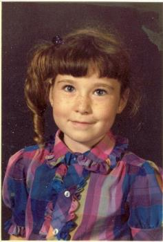 Little Lecanis - So I had no fashion sense as a kid!