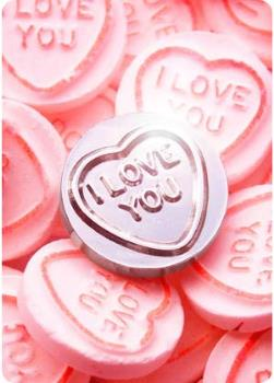 """I love you"" Love Hearts - These little sweets say so easily what many people find hard to experience or say themselves"