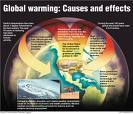 Global warming effects and actions - Everybody should contribute in efforts to ontain global warming.