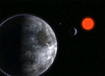 Gliese 581 c - Gliese 581 C is the smallest extrasolar planet
