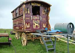 Romany Gypsy Caravan - A beautiful Romany Gypsy Caravan... if only...