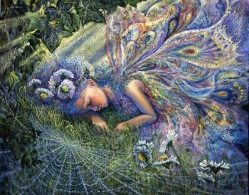 Avatars -  A image bye the same artist, Josephine Wall.