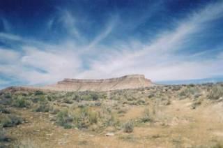 Watercolor Desert Sky - Southern Utah mesa