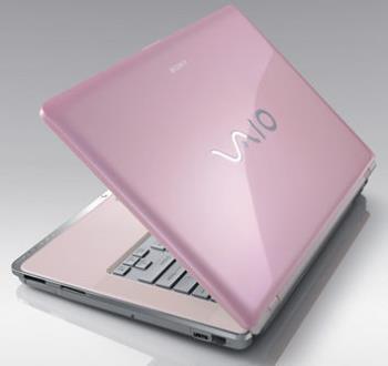 my lappie~ luxury pink - sony vaio, luxury pink